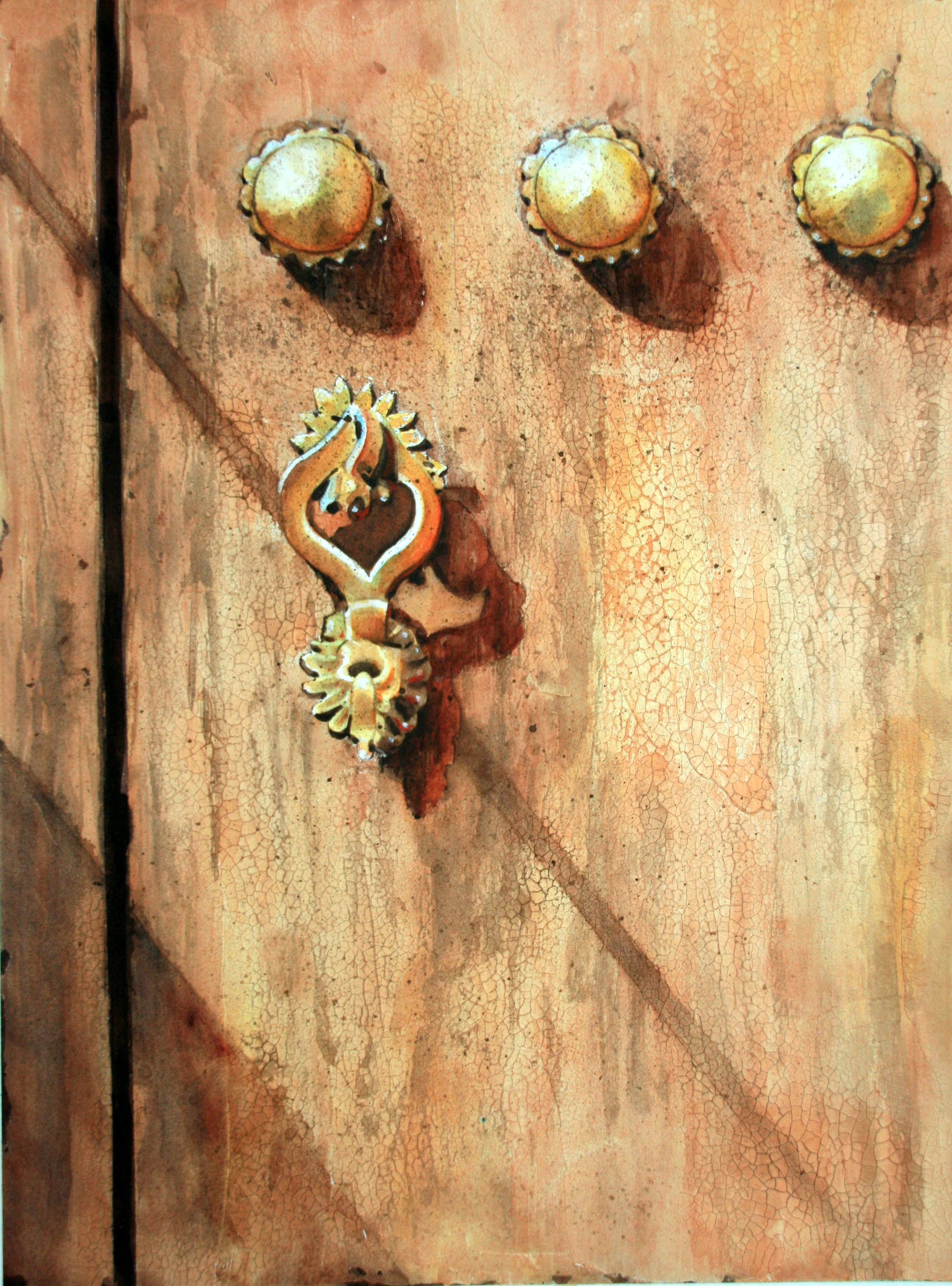 Lady's Door Knocker