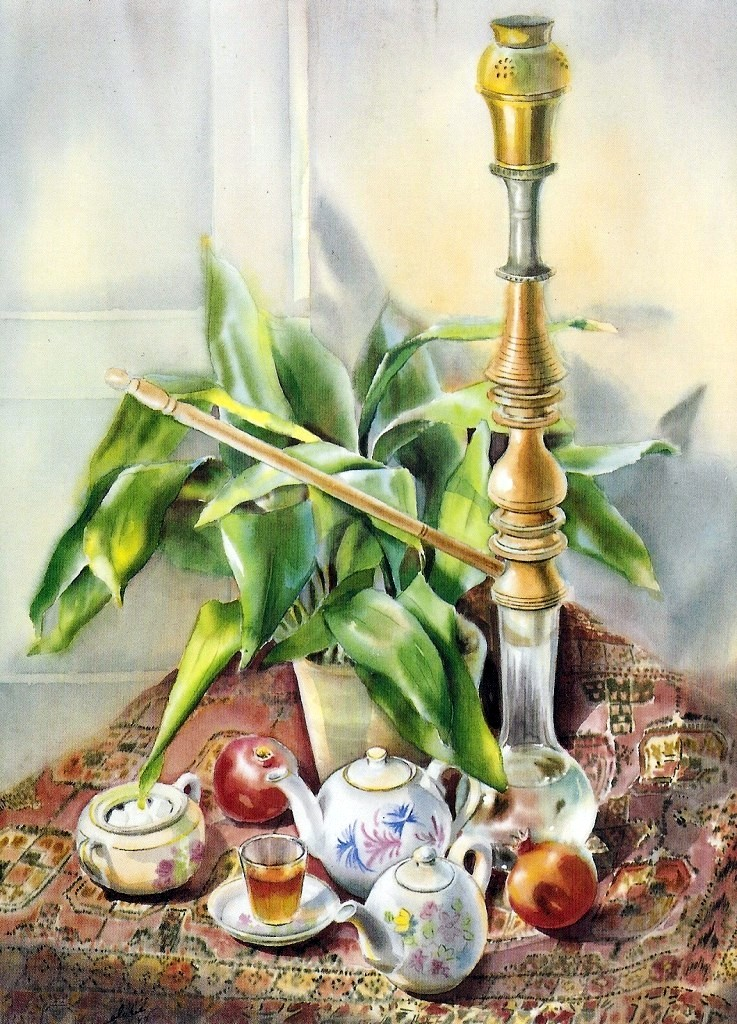 Still Life with Water Pipe